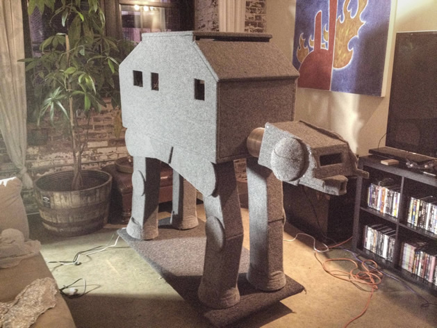 The Making of the Epic CAT-AT – An AT-AT Walker Cat Condo