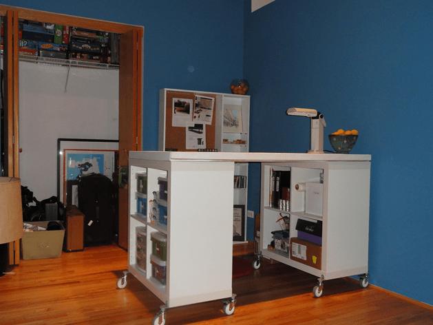 DIY Craft Table IKEA Hack