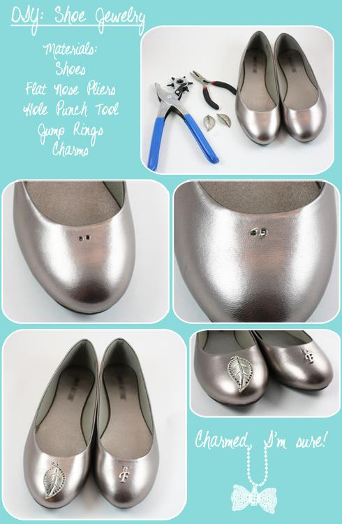 DIY Shoe Jewelry