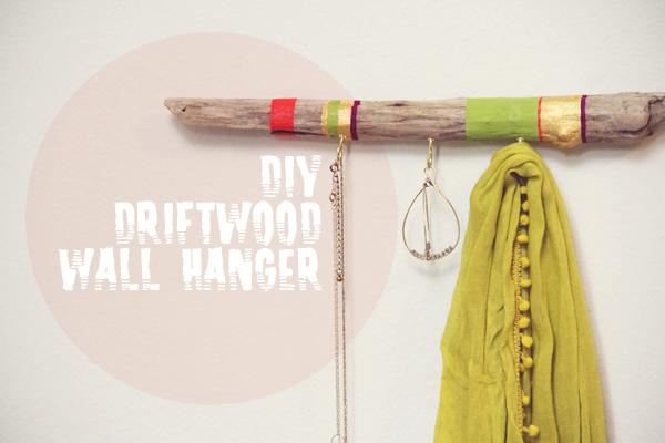 DIY Driftwood Hanger