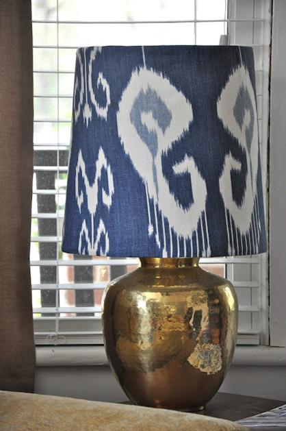 DIY Lamp Shade Recovering