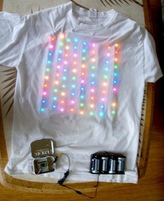 LED Strip T-shirt