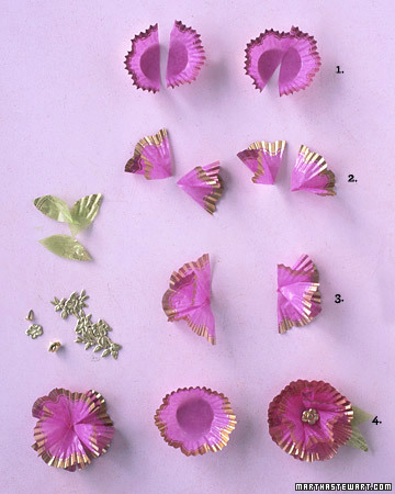 Martha's Paper Cup Flowers