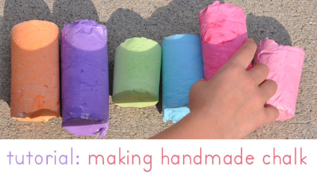 How-To: Giant Homemade Sidewalk Chalk | Make:
