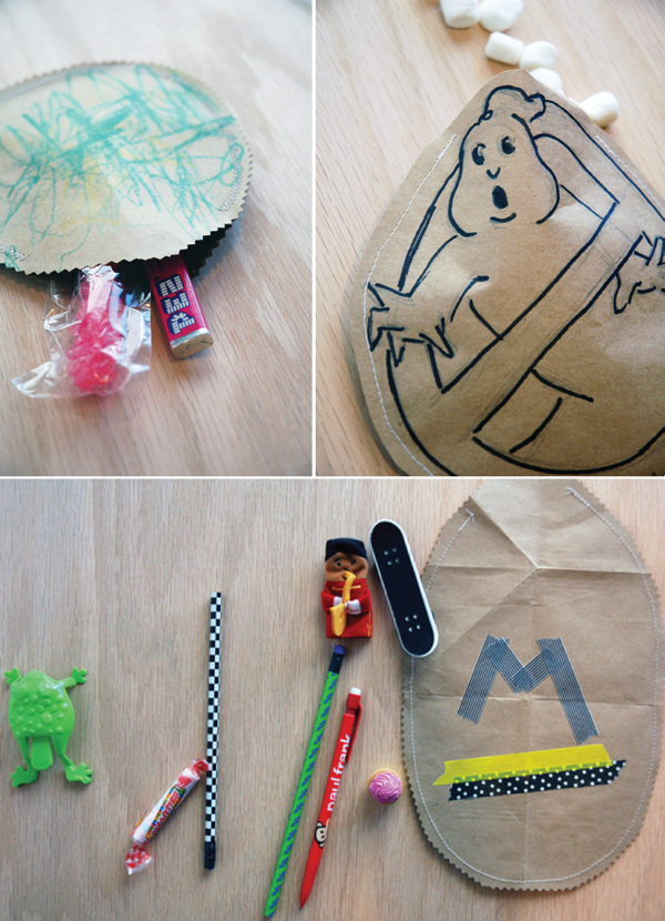 How-To: Paper Easter Egg Bags