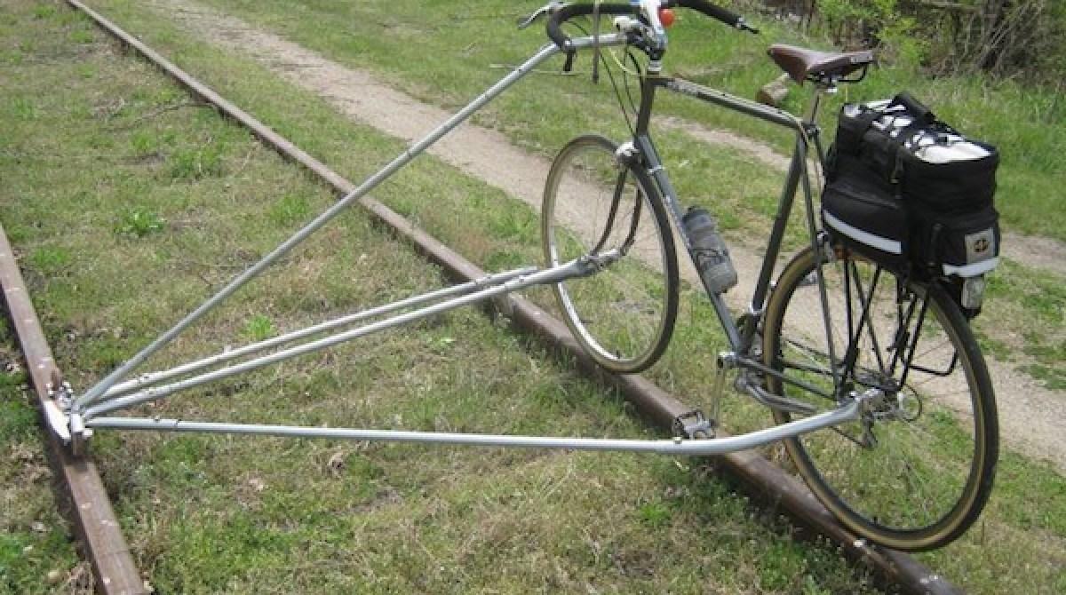No Weld Rail Bike Conversion Make