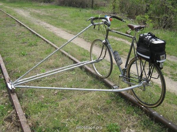 No-Weld Rail Bike Conversion