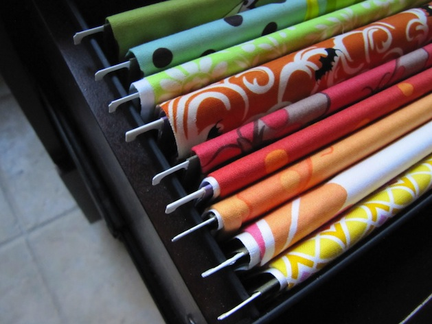 Article Featured Image & How-To: Organize Fabric in a Filing Cabinet | Make: