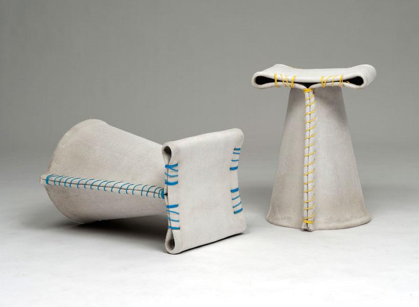 Concrete Canvas Furniture