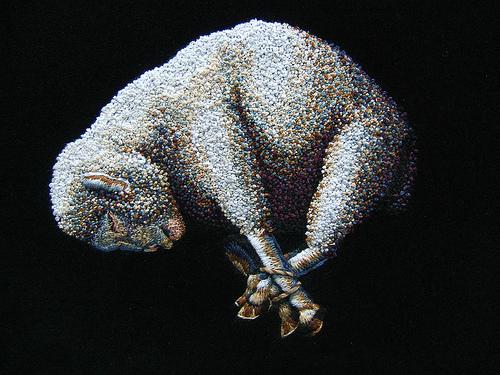Unusual Embroidery Exhibition in Miami
