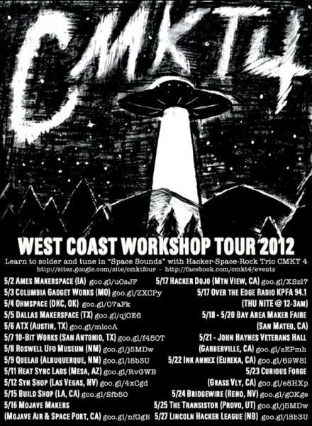 CMKT 4 West Coast Hackerspace Tour