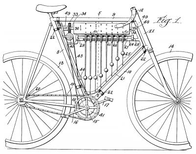 Samuel Goss's Musical Bicycle 1899