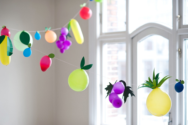 How-To: Fruit Balloons