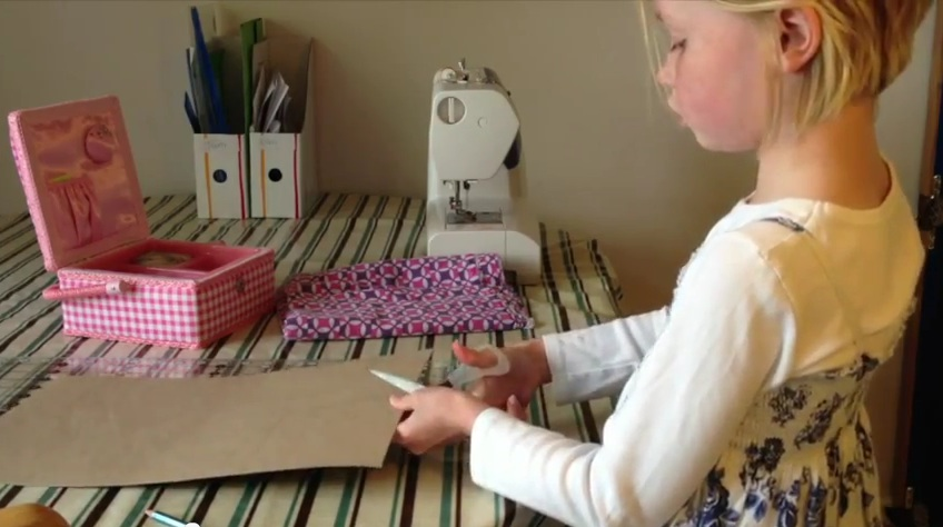 Learn How to Sew From a 9-Year-Old
