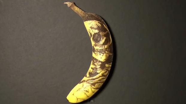 How-To: Tattoo a Banana