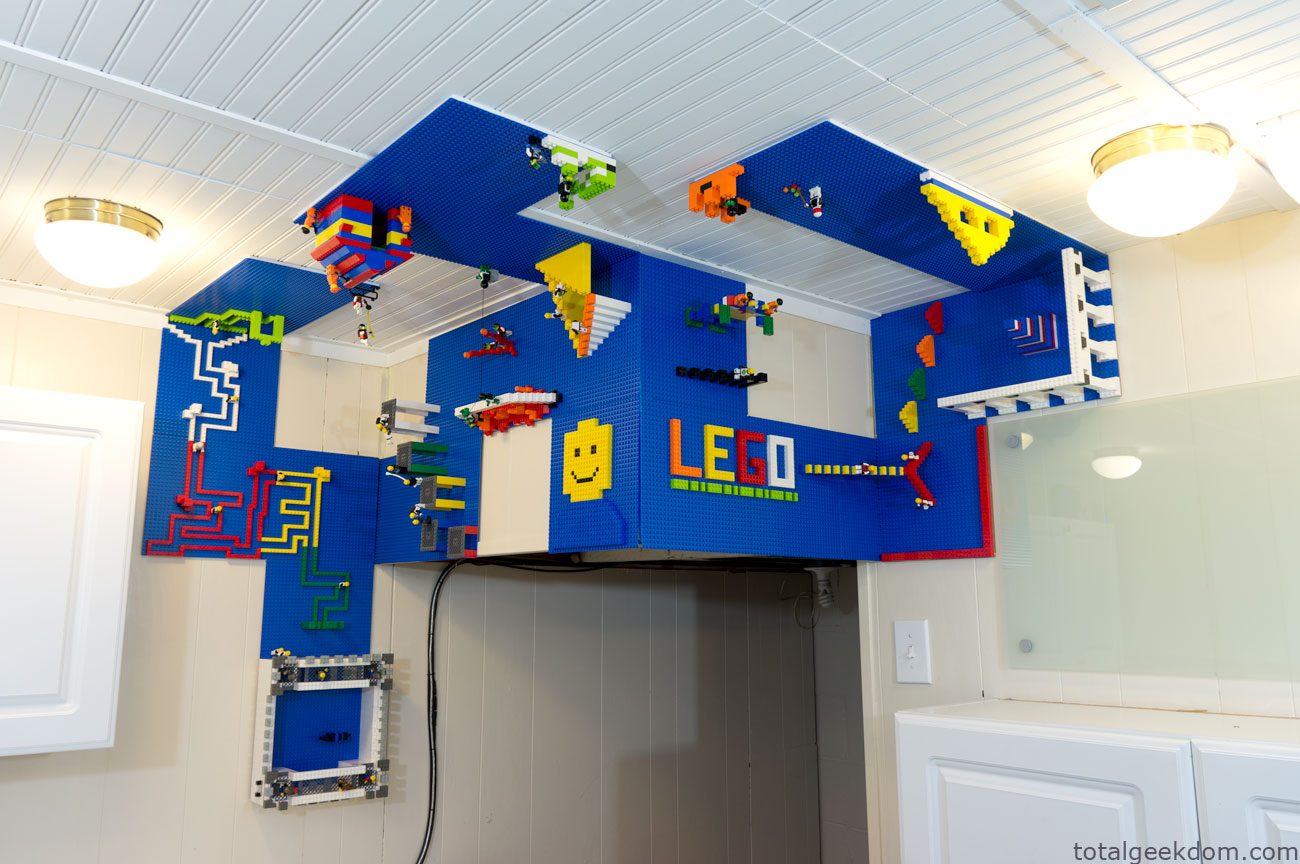 Lego Wall and Ceiling Build Area