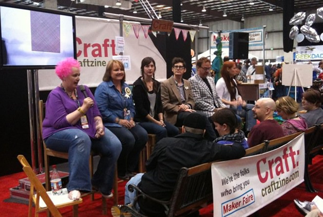 Volunteer With CRAFT at Maker Faire, Earn Day or Weekend Pass!