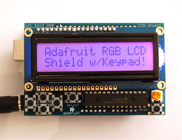 New in the Maker Shed: Positive RGB LCD Display Shield