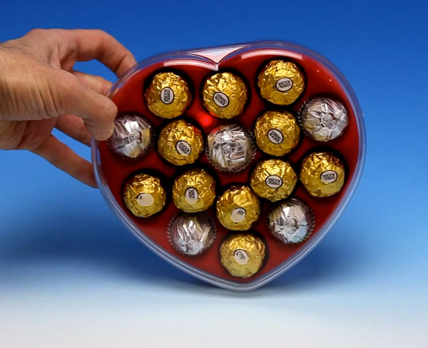 Maker's Mother's Day Gift: LED Box of Chocoloates