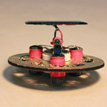 Build a Fun Solar Roller or Symet BEAM Bot This Weekend