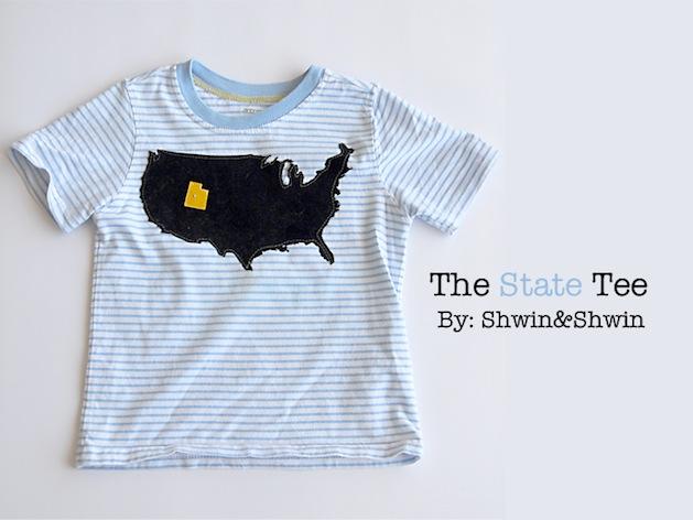 How-To: Custom State T-Shirt