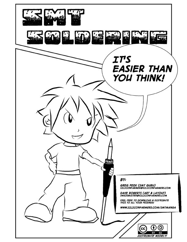 Manga Helps You Learn Surface-Mount Soldering