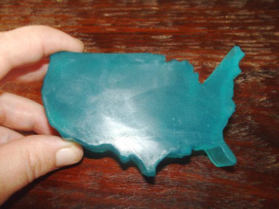 U.S.A.-Shaped Soap