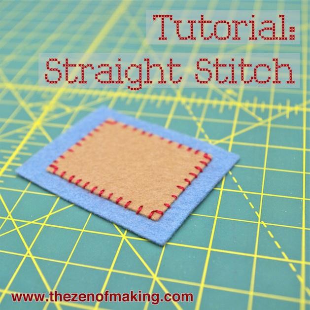 Straight Stitch Tutorial