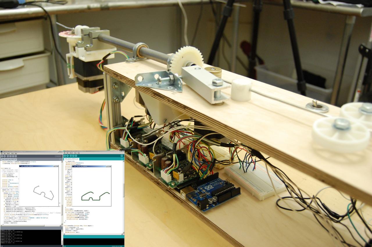 Arduino-Powered Wire Bending Machine