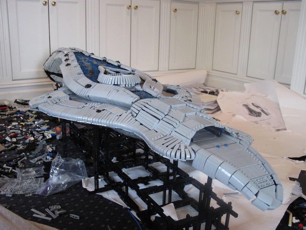 Six Foot Lego Assault Carrier