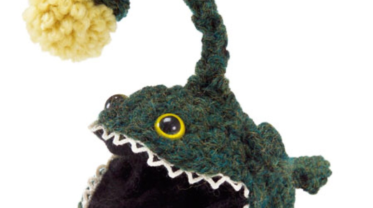 Crochet Angler Fish Pattern Make