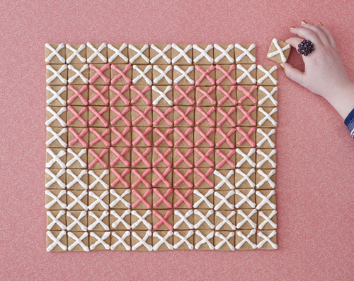 How-To: Cross-Stitch Cookies