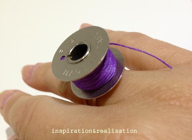 How-To: Vintage Bobbin Ring