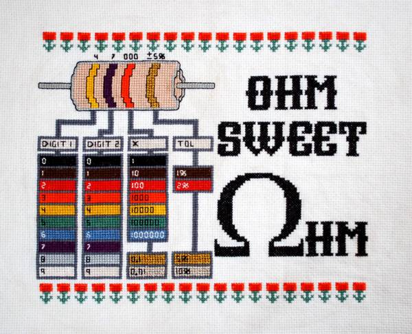 Cross-Stitched Resistor Reference