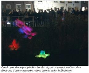 NEWS FROM THE FUTURE – Quadcopter Art  – Suspicion of Terrorism?