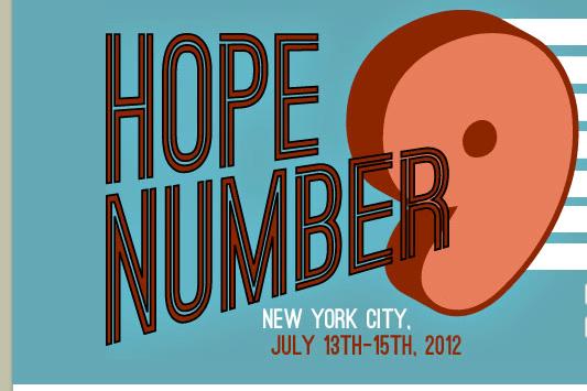 HOPE Number 9 Speaker Schedule Released