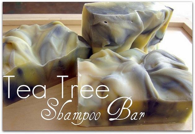 How-To: Tea Tree Shampoo Bars