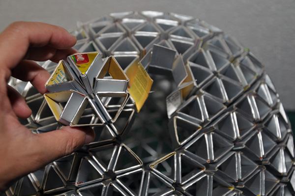 Cool Modular Origami Lampshade Method
