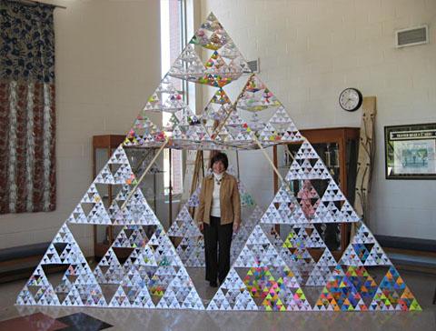 Math Monday: Tetrahedron Ripples