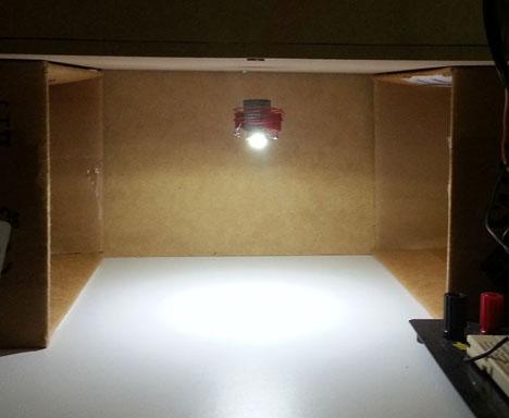 Levitating Light With Wireless Power Transfer