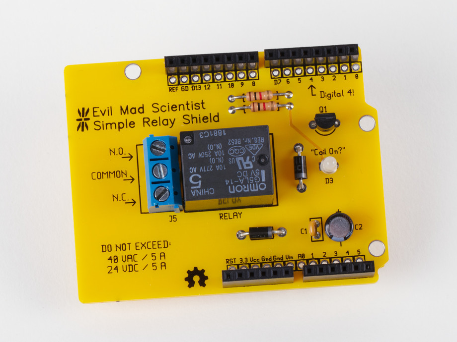 EMSL's Simple Relay Shield