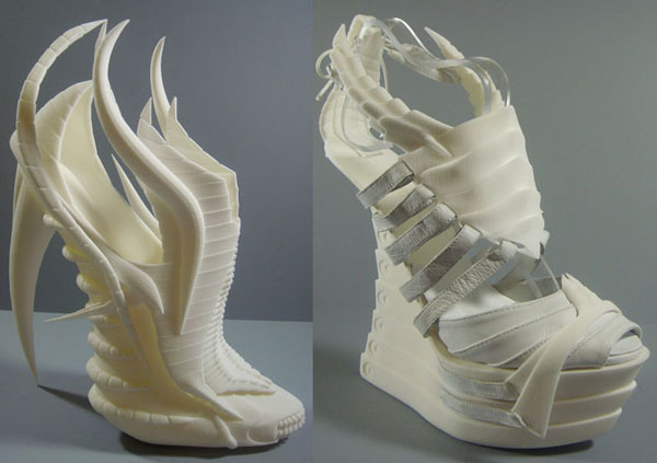 Outrageous 3D Printed Shoes