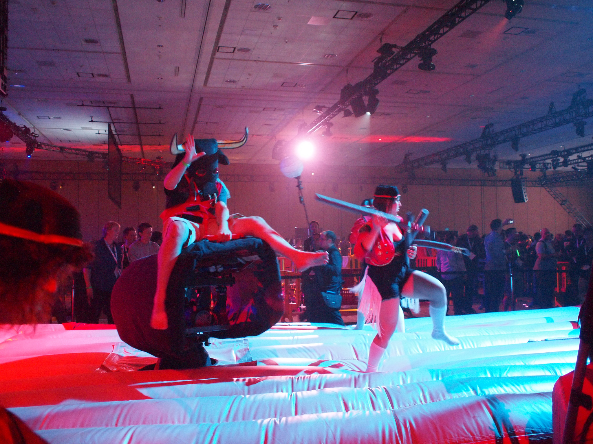 Compete Head-to-Head with Dueling Mechanical Bulls