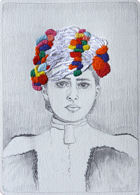 The Embroidered Drawings of Izziyana Suhaimi