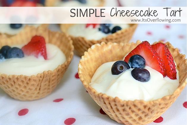 Recipe: Cheesecake Tarts