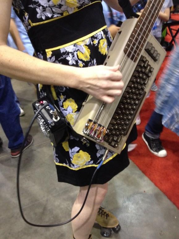 Details of C64 Bass Guitar Hack