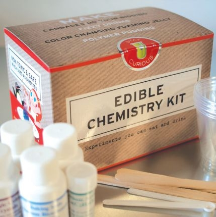 New in the Maker Shed: Edible Chemistry Kit