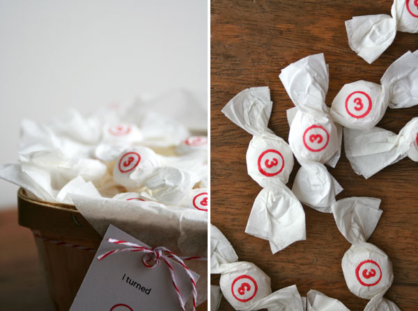How-To: Stamped Candy Party Favors