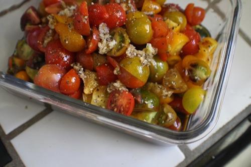 Recipe: Savory Tomato Salad