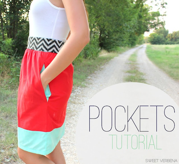 How-To: Add Pockets to a Skirt, Shorts, or Tunic